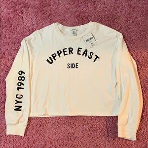 Long sleeve crop shirt - NEW